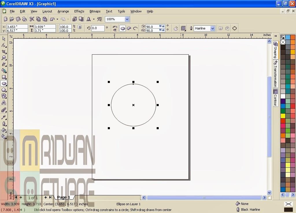 Cara Membuat Gambar Doraemon Menggunakan Coreldraw Hogysaputra2211